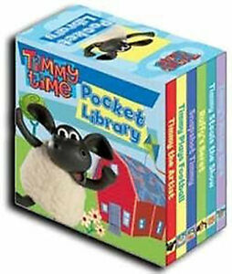 Timmy-Time-Little-Pocket-Library-Collection-Childrens-6-Board-Books-Set