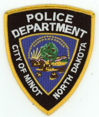 MINOT POLICE NORTH DAKOTA NICE COLORFUL PATCH SHERIFF