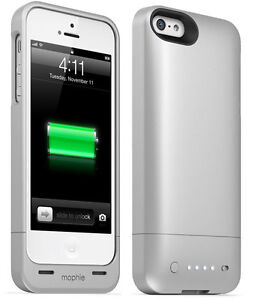NEW Mophie Space Pack 32GB External Battery Case for iPhone 5/5S