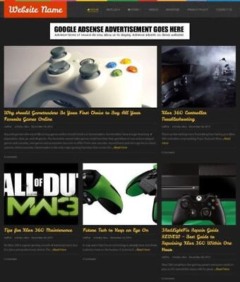 Established Video Games Store Online Business Website For Sale Mobile Friendly