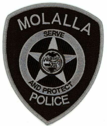 MOLALLA OREGON OR POLICE NEW SUBDUED SWAT PATCH SHERIFF