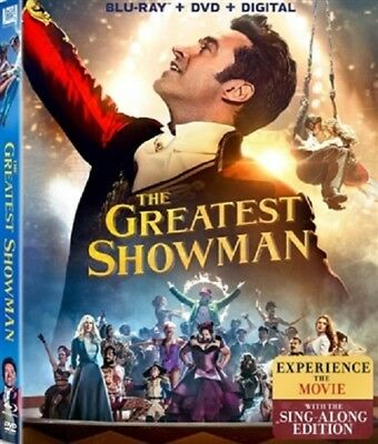 Greatest Showman 03 18  Used  Blu Ray Only Disc Please Read