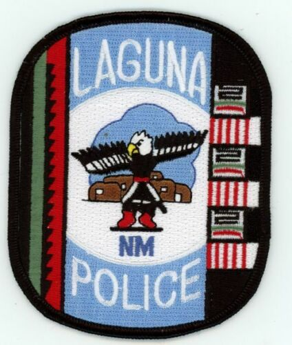 LAGUNA POLICE NEW MEXICO NICE NEW COLORFUL TRIBAL THEMED PATCH SHERIFF