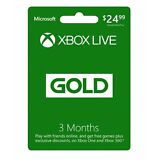 Microsoft Xbox LIVE 3 Month Gold Membership for Xbox 360 / XBOX ONE