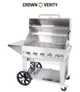 Professional Crown Verity MCB 36 BBQ Griddle Grill