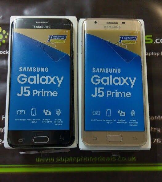 SAMSUNG GALAXY J5 PRIME 16GB UNLOCKED WITH RECEIPT