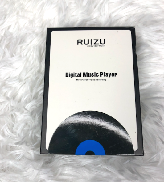 RUIZU MP3 Player 8GB Digital Music Player with Bluetooth 4.1