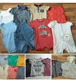 20 item boys 12-18m clothes bundle