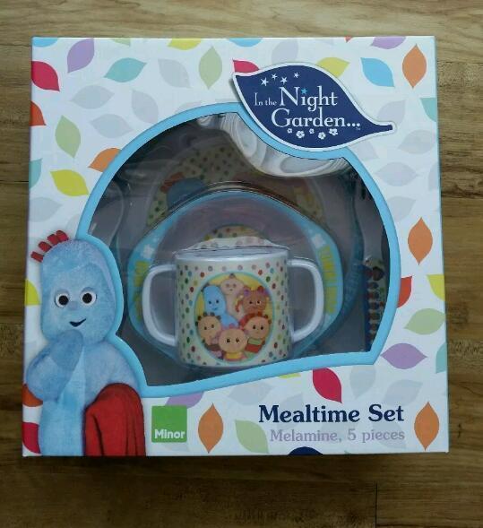 Childrens IN THE NIGHT GARDEN Melamine 5 Piece Mealtime Set BNIB & Childrens IN THE NIGHT GARDEN Melamine 5 Piece Mealtime Set BNIB ...