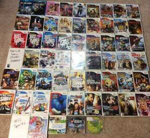 Over 50 Nintendo Wii Games and Accessories