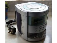GOODMANS ALARM CLOCK RADIO CD PLAYER