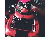 Baby racing car walker