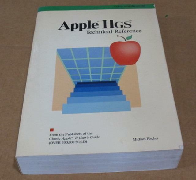 1987 Apple IIGS Technical Reference Hardware CPU Disk Internals 700+ pgs