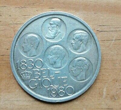 Pièce en argent 500 francs - 150 ans de l'indépendance de la Belgique