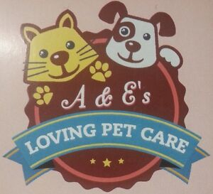 A & E's LOVING PET CARE, DOG WALKING, CAT SITTING, EXPERIENCED