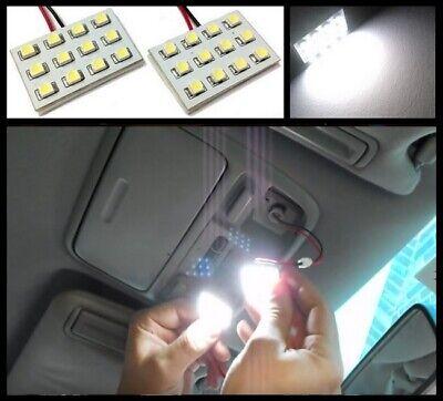 2x 5000k White Map Dome Trunk Interior Light 12 LED panels for Volkswagen VW #A1 comprar usado  Enviando para Brazil