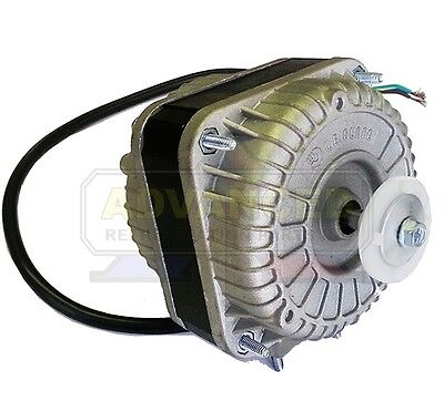 New Shade Pole Square Fan Motor Ccw 6w 115v 1550 Rpm For Evaporator Condenser