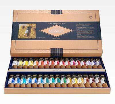 Mijello Mission Gold Class Pure Pigment MWC-1534P Watercolor Paint 15mlX34Colors