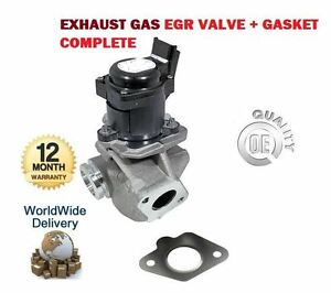 for ford fiesta v vi van 1 6 tdci 2004 new exhaust gas egr valve 1682737 ebay. Black Bedroom Furniture Sets. Home Design Ideas