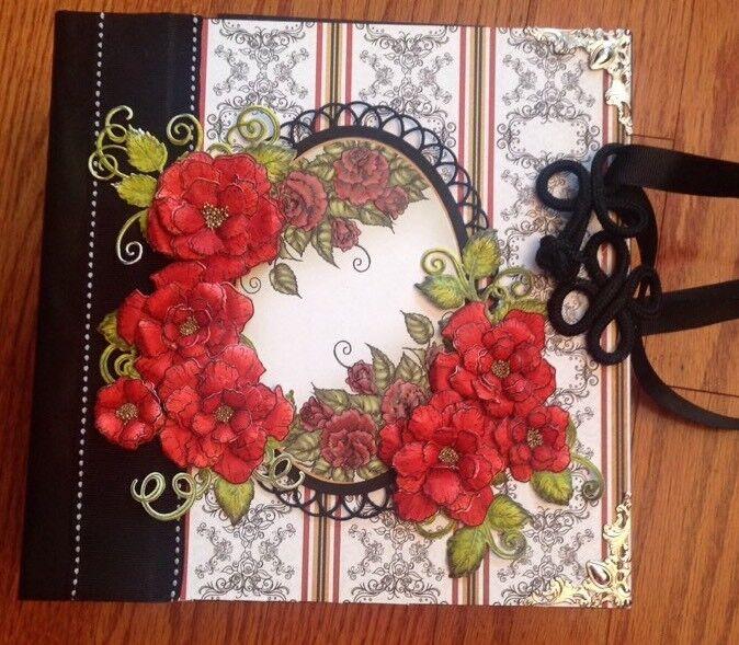 Handmade Album Using Heartfelt Creations All Glammed Up Collection