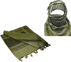 MILITARY - ARMY ISSUE O/D SHEMAGH SCARF ARAB/SAS/RETRO