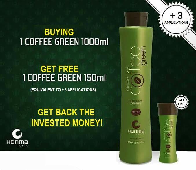 coffee green honma