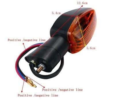 Yellow Motorcycle Front /& Rear Turn Signal Indicator Light For Honda VTR1000F