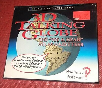3D Talking Globe  Small Blue Planet Series  by Now What Software