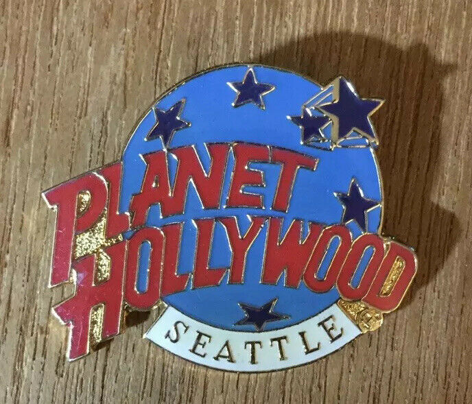 Planet Hollywoord Pin-Seattle, Washington. Price Reduced to Sell!