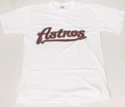 HOUSTON ASTROS MLB MAJESTIC 2 BUTTON REPLICA JERSEY (Mlb Majestic Jersey)