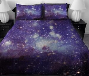 Double Galaxy bed set. 4 piece