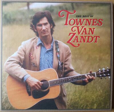 Townes Van Zandt - The Best Of Townes Van Zandt 2 x LP Vinyl Album NEW
