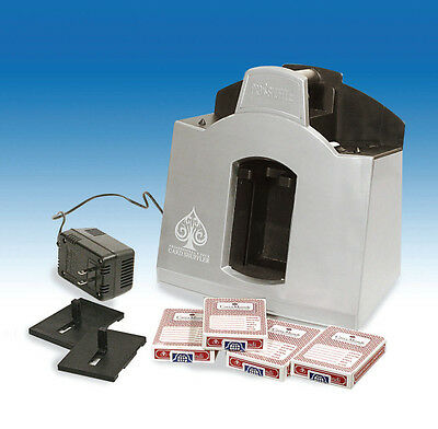 Playing card shuffler Professional 1 to 6 deck