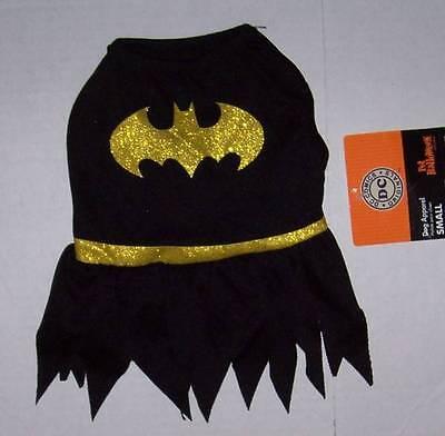 DC Comics Batgirl Dog Costume Size Small NWT Halloween Bat Girl Batman