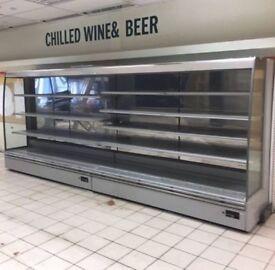 multideck chiller cabinet 5.3m