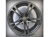 "Genuine Audi R8 ""Titan"" 19"" alloy wheels (fronts only)"