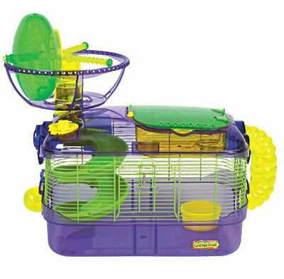 CRITTERTRAIL X EXTREME CHALLENGE CAGE FOR HAMSTERS & GERBILS