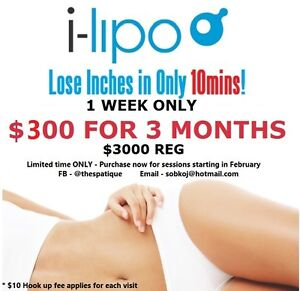 i-Lipo (laser fat reduction) LOOSE INCHES INSTANTLY Cambridge Kitchener Area image 1