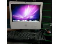 APPLE IMAC 17-inch Late 2006 - 160GB HDD - INTEL DUO CPU - 2GB DDR2 RAM - WITH KEYBOARD /MOUSE