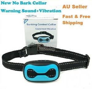 Anti-Bark Dog Collar Pet Sound Vibration Tie Model Training Barki Brunswick Moreland Area Preview