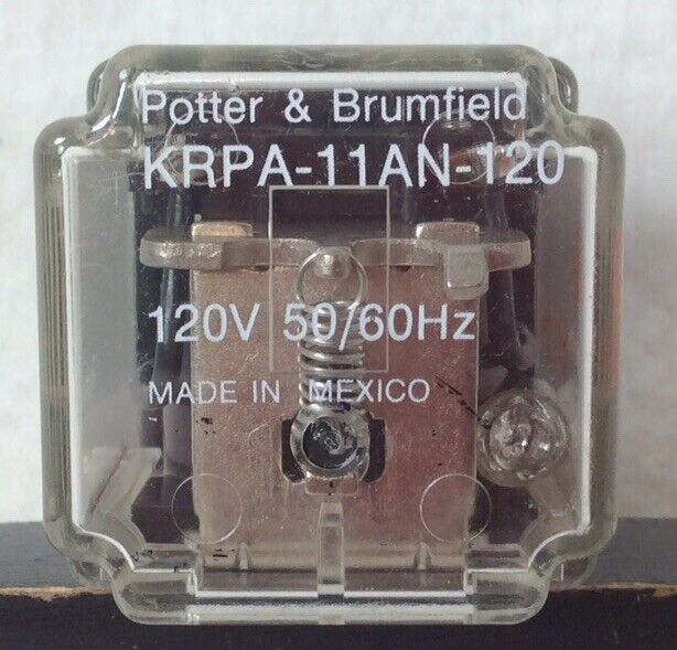 Unused Potter & Brumfield Ice Cube Relay KRPA-11AN-120