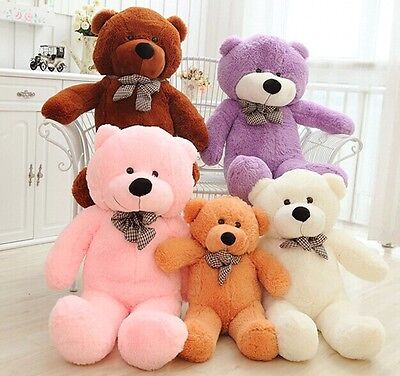80/100CM/120cm/140cm Giant Big Cute Plush Stuffed Teddy Bear Soft Cotton Toys