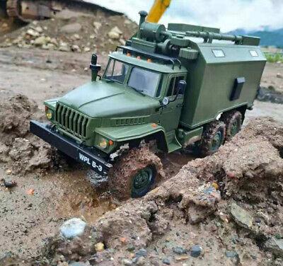 WPL Ural-4320 B36 1:16 6WD 2.4G Militär LKW Befehl Fahrzeug Klettern RC