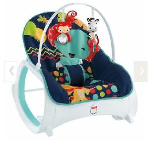 Fisher Price  Infant-to-Toddler Rocker - Midnight Rainforest