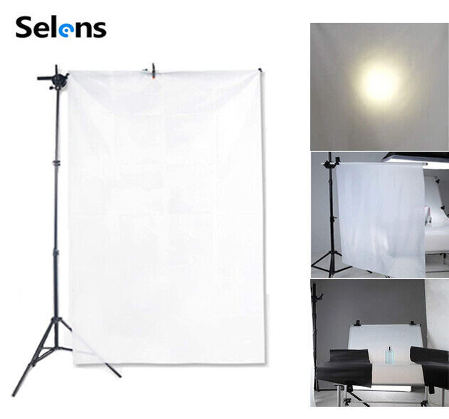 1x1.7M Diffusion Fabric White Seamless Nylon for Softbox Photography Light Tent