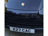 Cherished personalised licence plate