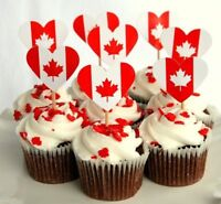 Canada Day Cupcakes by Hungry Duckling Cakes