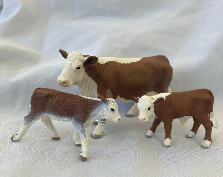 Schleich Retired Cow Lot