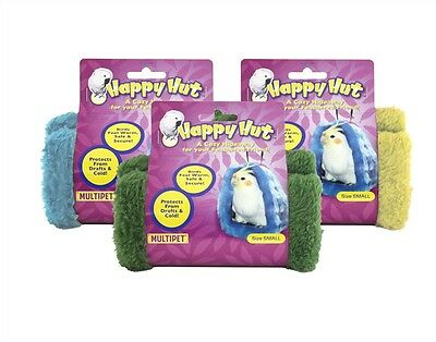 "Multipet Happy Hut for Birds-Small 5"" Colors Vary (Free Shipping in USA)"