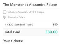 The Monster at Alexandra Palace